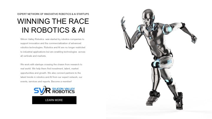 Silicon Valley Robotics is winning the race – join us
