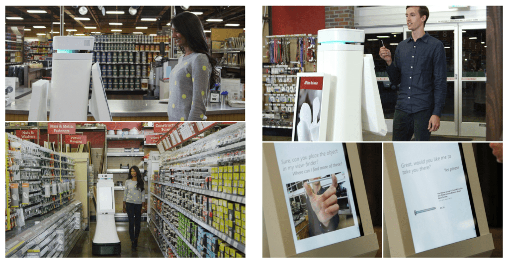 Customer interactions Fellow Robots