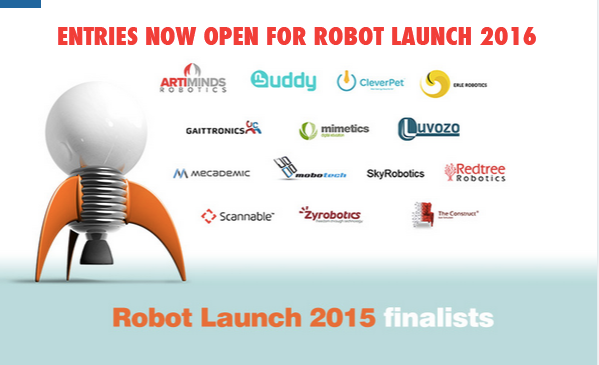 Robot Launch 2016 searching for the world's best robotics and AI startups