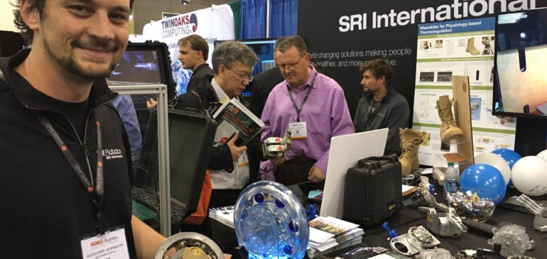 Silicon Valley companies show their stuff at RoboBusiness Expo