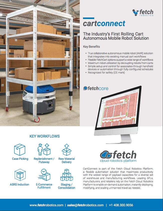 Fetch Robotics raises $94m for excellence in logistics