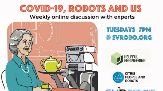 COVID-19, robots and us – weekly online discussion