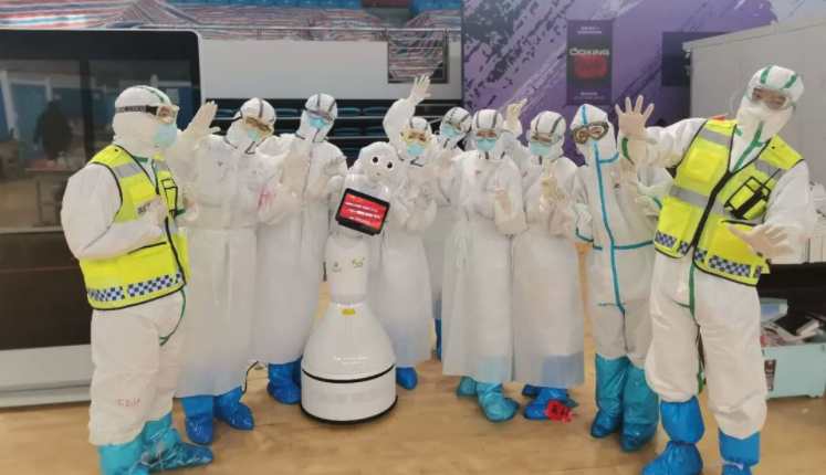 Robots providing social support while we're social distancing