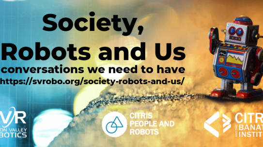 Society, Robots and Us: the conversations we need to have (next July 28)