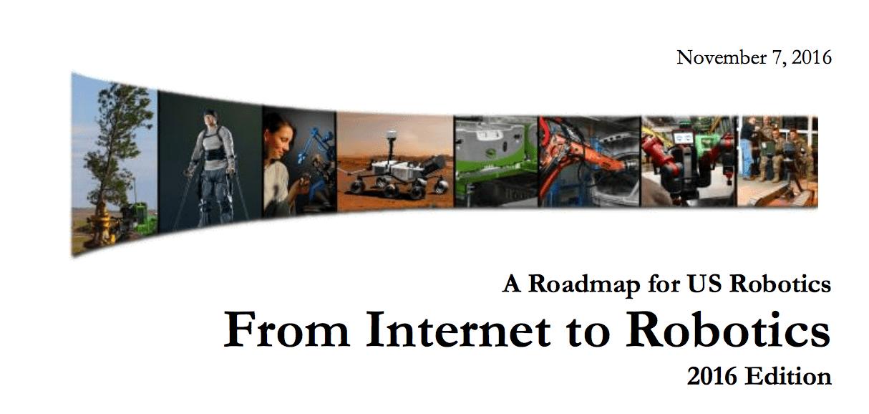 US Robotics Roadmap Silicon Valley Robotics - Roadmap of us